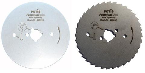 Zestaw ostrzy do S120/150/180 - 2 rodzaje   POTIS