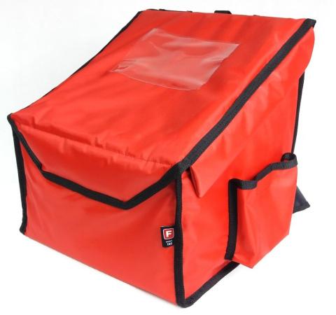 67b344459b3a9 FURMIS | Plecak na pizzę 4x36x36 S nylon - czerwony | sprzęt ...