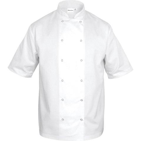 STALGAST | Bluza kucharska biała krótki rękaw XL unisex