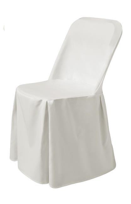 HENDI | Pokrowiec na krzesło Excellent - biały